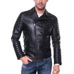 Leather Jacket // Black (XL)
