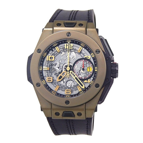 Hublot Big Bang Ferrari Chronograph Automatic // 401.MX.0123.VR // New