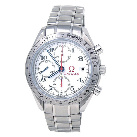 Omega Speedmaster OIympic Edition Chronograph Automatic // 32310404004001 // Pre-Owned