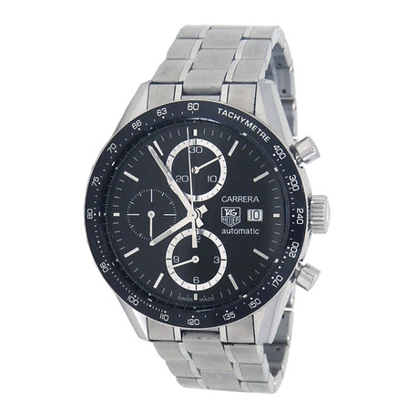 Tag Heuer Carrera Tachymeter Chronograph Automatic // CV2010.BA0794 // Pre-Owned
