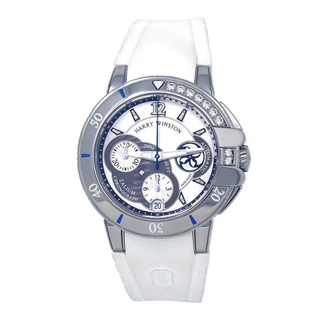 Harry Winston Ocean Sport Automatic // OCSACH38ZZ001 // Pre-Owned