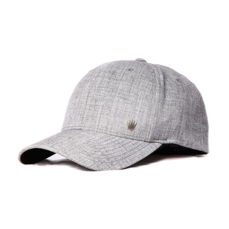 Carmelo Flexfit // Heather Gray (S/M // 21.25-22.75 inches)
