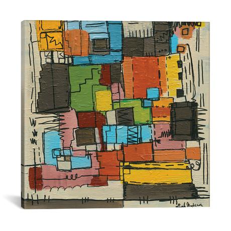 "Retro Nadeau // Leah Nadeau (12""W x 12""H x 0.75""D)"