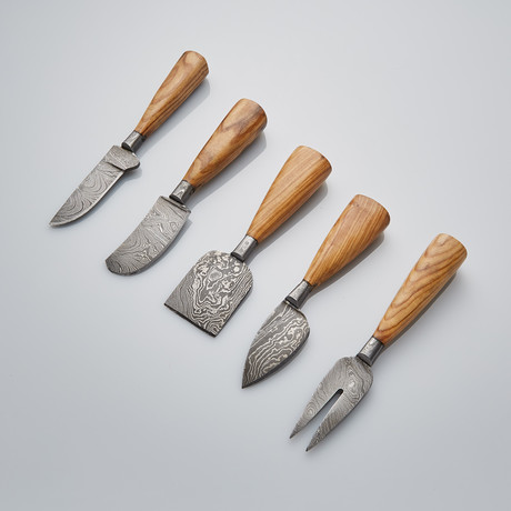 Cheese Knife Set Of 5 PCS // 01