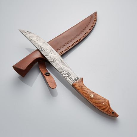 Damascus Fillet Knife // 11