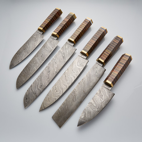 Kitchen Knife Set Of 6 PCS // 19
