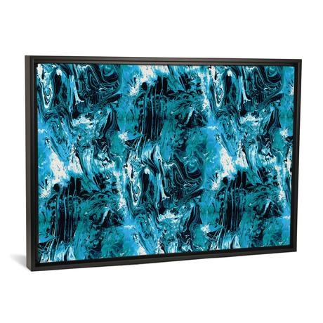 "Blue Marbled // Cayena Blanca (18""W x 26""H x 0.75""D)"