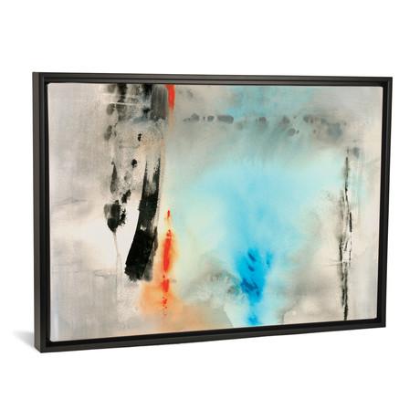 "Dusky Turquoise // Michelle Oppenheimer (18""W x 26""H x 0.75""D)"