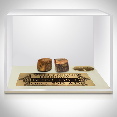 Ancient Roman Authentic Bone Dice // Museum Display (Dice Only)
