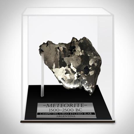 Meteorite Authentic Campo Del Cielo // Museum Display (Meteorite Only)