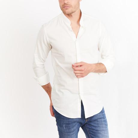 Myron Button-Up // White (S)
