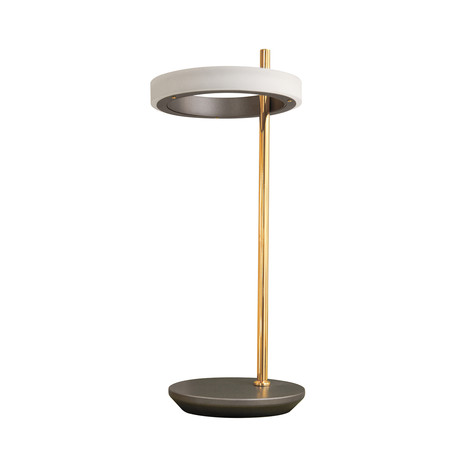 Modern Design // Single Hoop LED Table Lamp