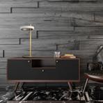 Modern Design // Single Hoop LED Table Lamp