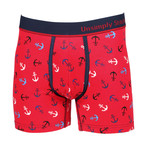 Marlon Boxer Brief // Red (2XL)