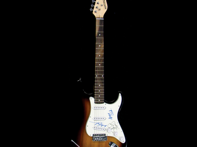 Photo of Piece Of The Past Signed Guitars From Music Legends Jefferson Starship // Signed Stratocaster (Unframed) by Touch Of Modern
