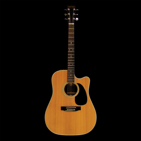 glenn frey owned played takamine guitar custom case piece of the past touch of modern. Black Bedroom Furniture Sets. Home Design Ideas