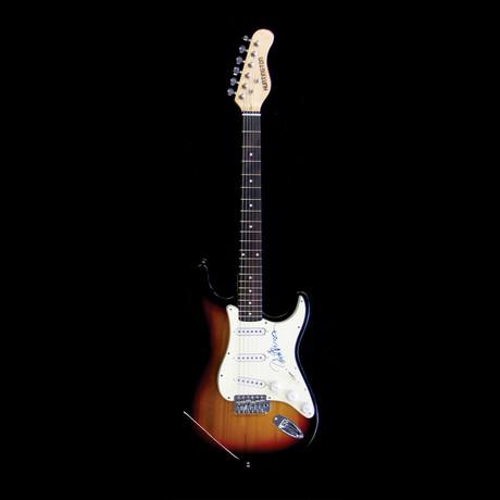 Peter Frampton // Signed Stratocaster (Unframed)