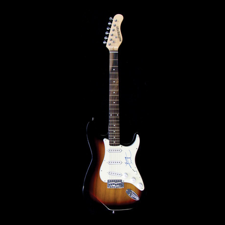 Pete Townshend // Signed Stratocaster (Unframed)