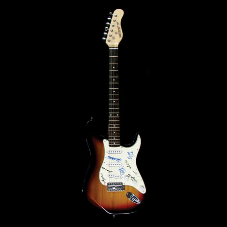 Woodstock // Signed Stratocaster (Unframed)