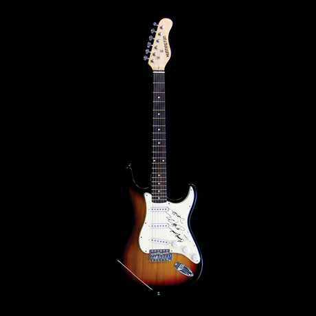 ZZ Top // Signed Stratocaster (Unframed)