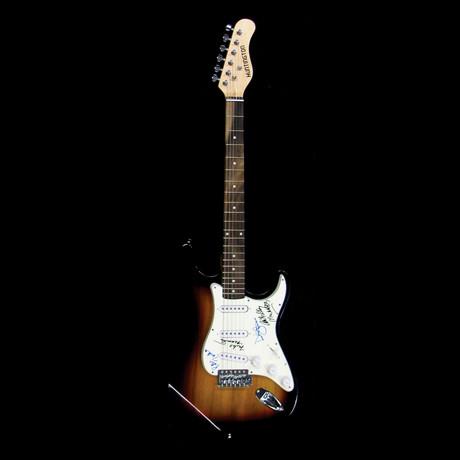 The Monkee's // Signed Stratocaster (Unframed)