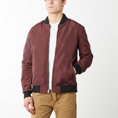 Harley Reversible Light Weight Bomber // Mulberry (S)