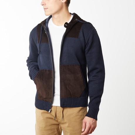 Harlow Sweater Hoodie // Navy (S)