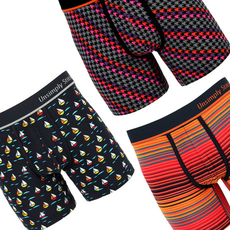 Omar 3 Pack Boxer Brief // Mystery Pack (S)