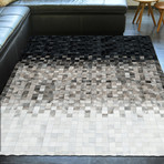 Pampera Rug // Ombre Pewter (5'L x 8'W)