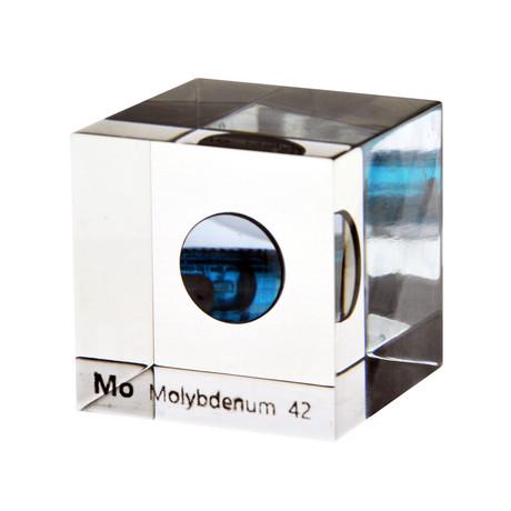 Lucite Cube // Molybdenum