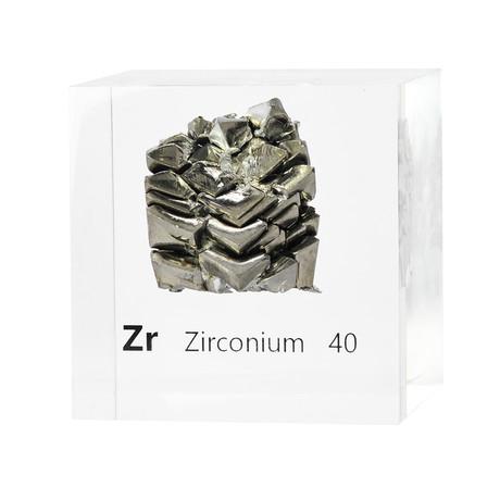 Lucite Cube // Zirconium
