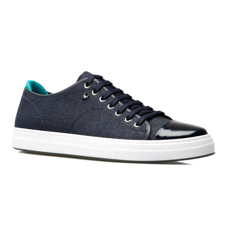 Ryan Low Top Sneaker // Dark Blue (Euro: 39)