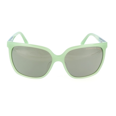 Women's P8589 Sunglasses // Green