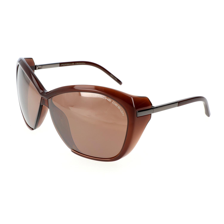 Porsche Design Women S P8603 Sunglasses Dark