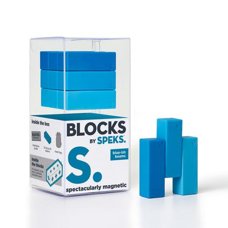 Blocks // Beams (Green-ish Beams)