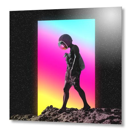 "Moonwalk // Aluminum Print (16""W x 16""H x 1.5""D)"