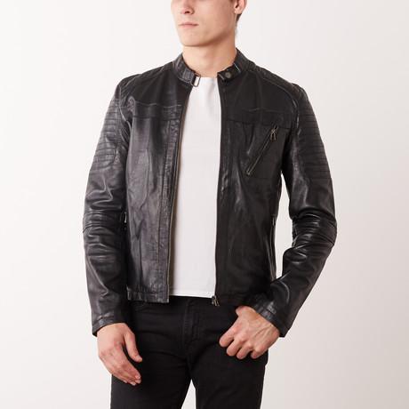 Bobby Leather Jacket // Black (S)