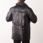 Jake Leather Jacket // Black (S)