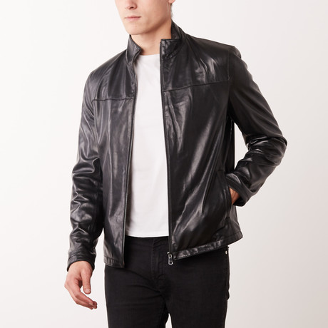Clement Leather Jacket // Black (S)