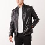 Clement Leather Jacket // Black (S)