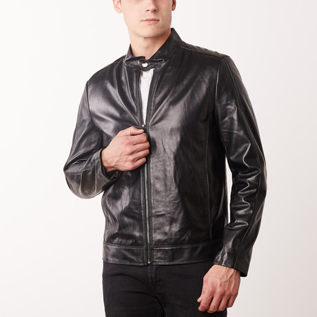 Donovan Leather Jacket // Black (S)
