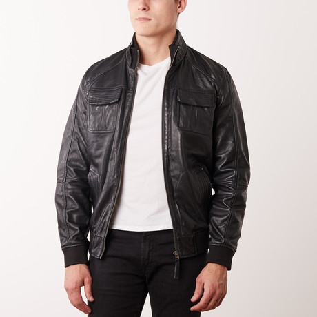 Vincenzo Leather Jacket // Black (S)