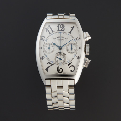 Franck Muller Cintree Curvex Chronograph Automatic // 5850 CC AT // Pre-Owned