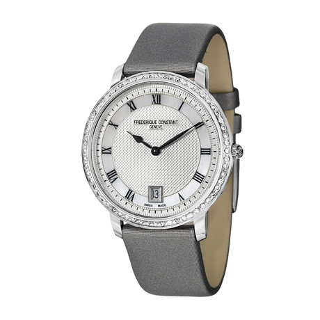 Frédérique Constant Ladies Slim Line Quartz // FC-220M4SD36 // New