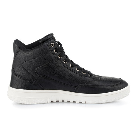 Iconic-Bomber High-Top Sneaker // Black (US: 8)