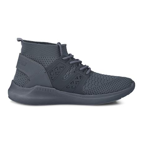 Knit Sock Mono Fashion Sneaker // Grey (US: 8)