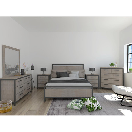 Irondale King Bed