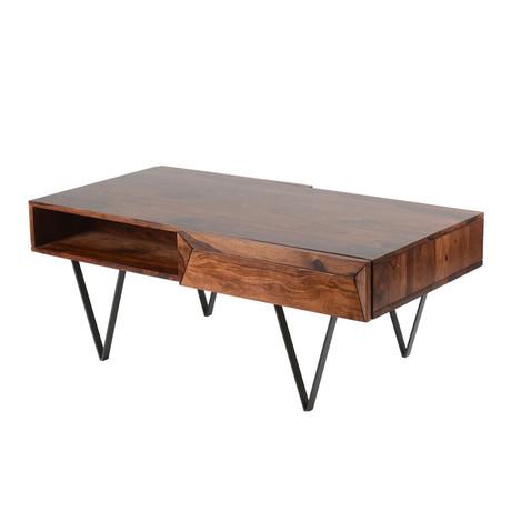 Matrix Coffee Table // Rosewood
