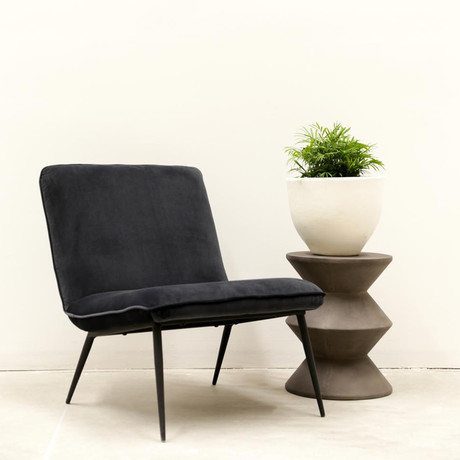 Concrete Inverted Stool // Round Face
