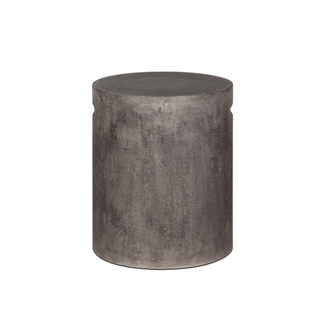 Concrete Round Stool With Handle